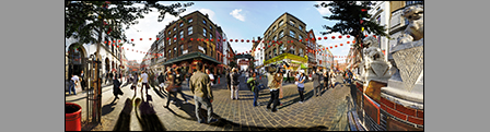 City Life: Gerrard Street, Chinatown - By Day