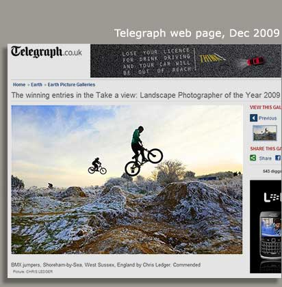 Daily Telegraph_Web Page Dec 2009